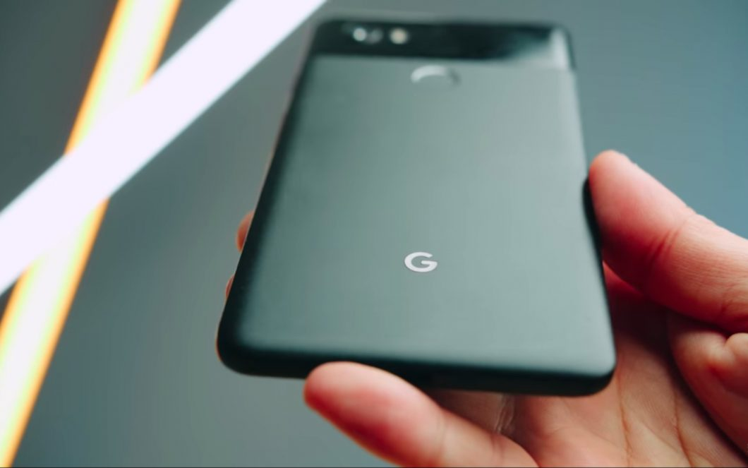 Pixel 4: the video of the Motion Sense function 2