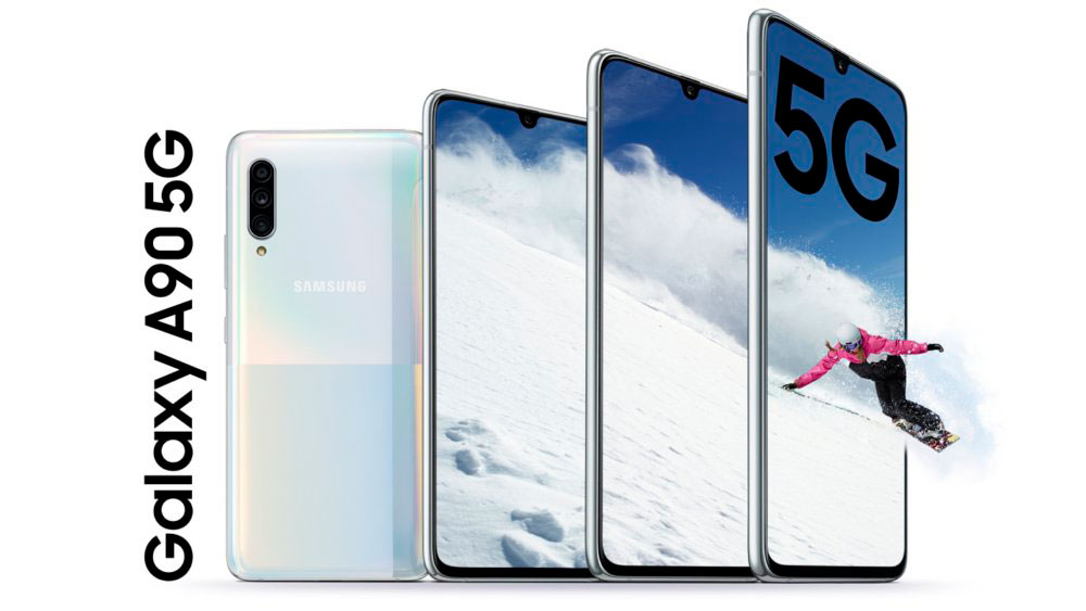 Samsung Galaxy A90, mid-range mobile with 5G and great autonomy
