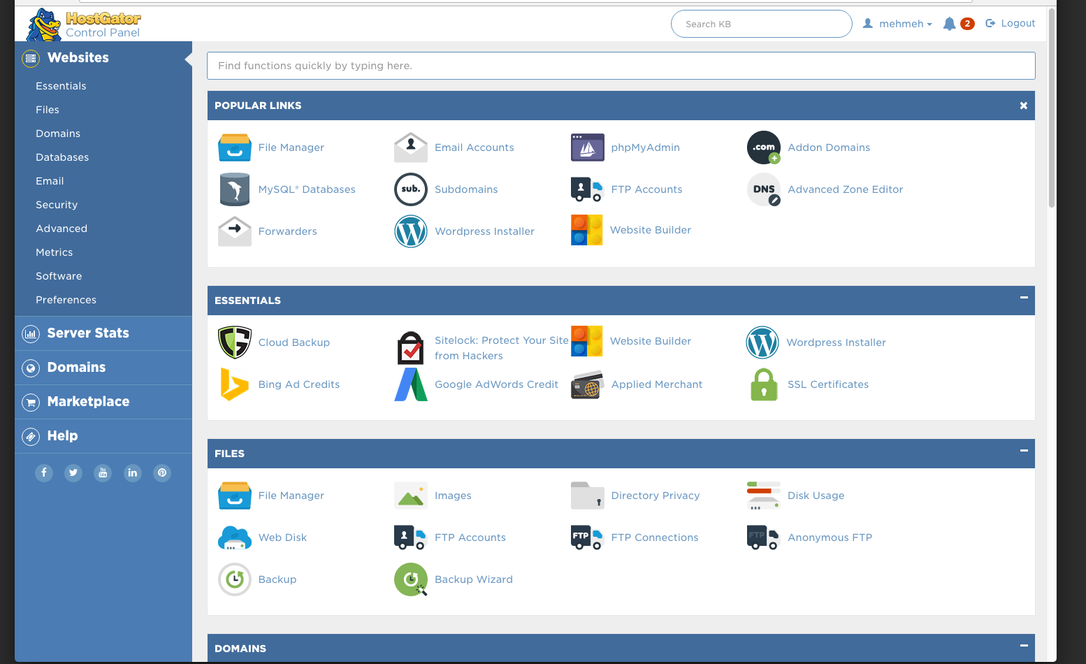 Strengths and Weaknesses of cPanel
