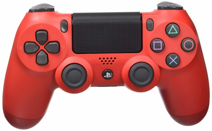 PS4 control red