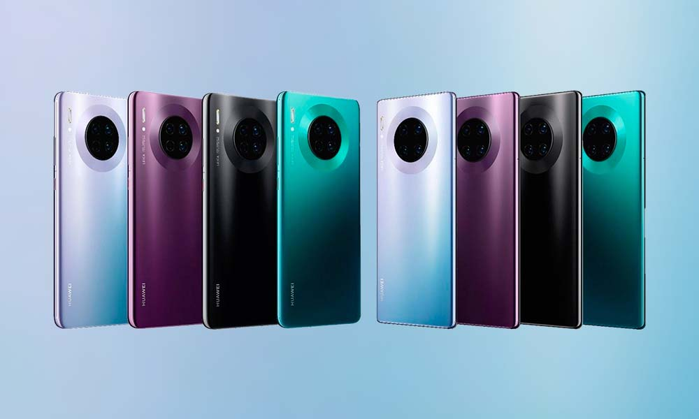The 5 keys of the new Huawei Mate 30 3
