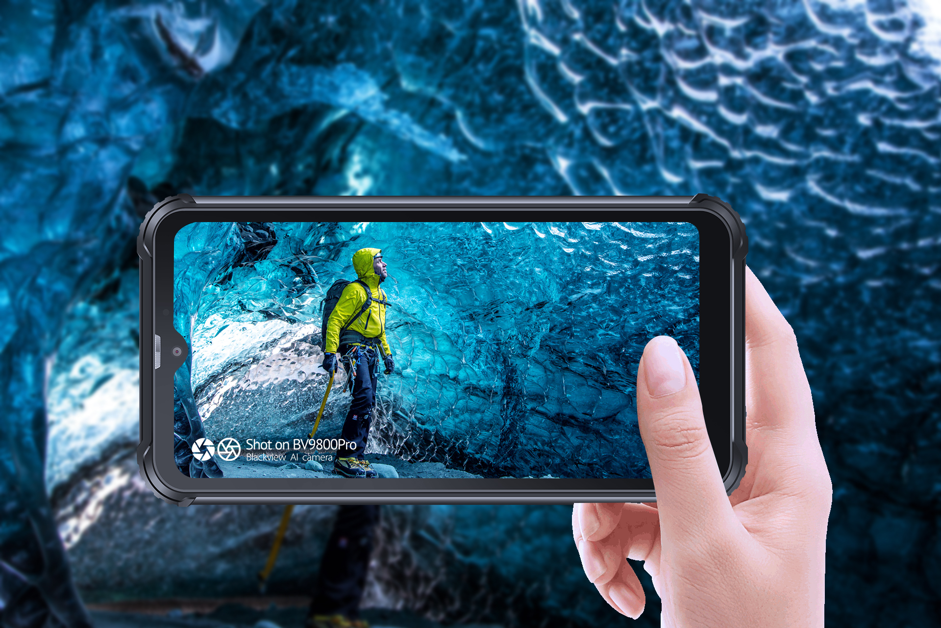 The Blackview BV9800 Pro is the world's first rugged phone with a 48MP camera and thermal camera 2