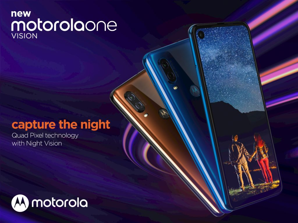 The Motorola One Vision is now official, with a 21: 9 screen