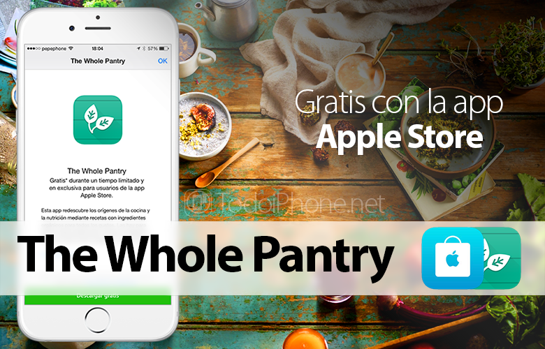 The Whole Pantry, FREE for iPhone with the app Apple Store 2