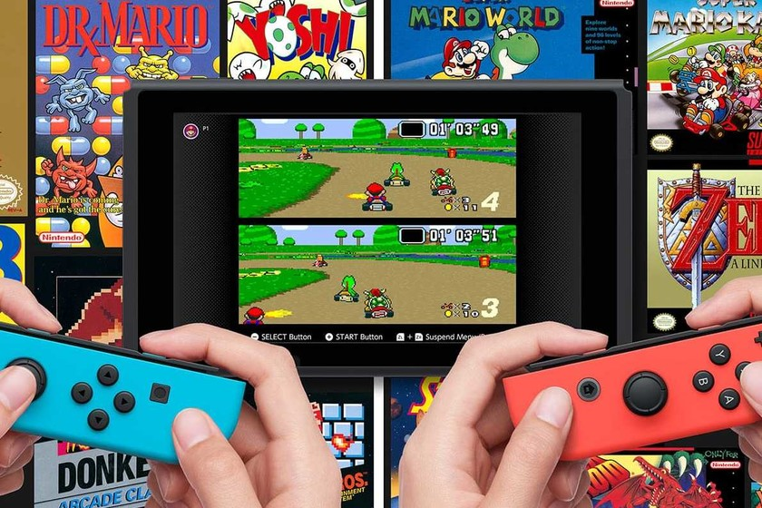The classic games of Nintendo Switch Online like those of NES and SNES will continue to be published, but not periodically
