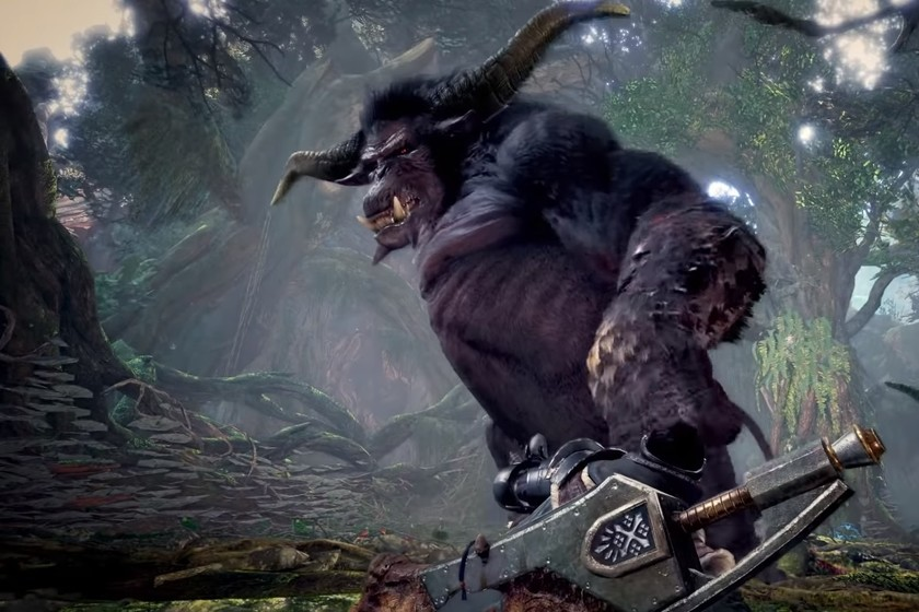 The imposing Rajang returns as the first DLC monster for Monster Hunter World: Iceborne