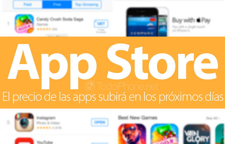 The price of apps in the App Store will rise in the next few days 2