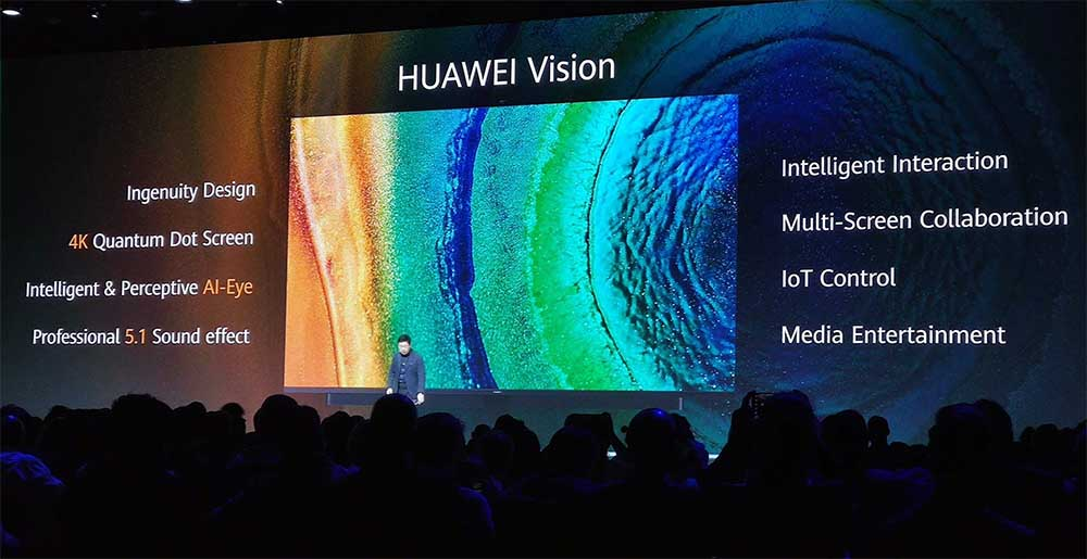 This is Huawei's first smart TV