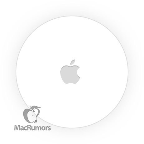 Image of the Bluetooth tracker of Apple found on iOS 13