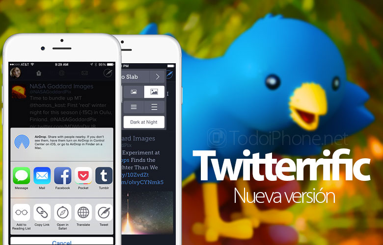 Twitterrific for iPhone is updated with lots of new features 3