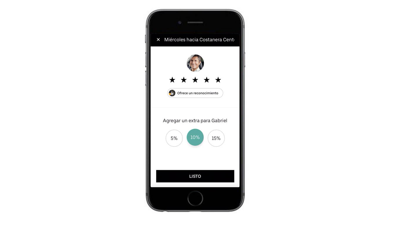 Uber will now allow drivers to deserve a tip 2