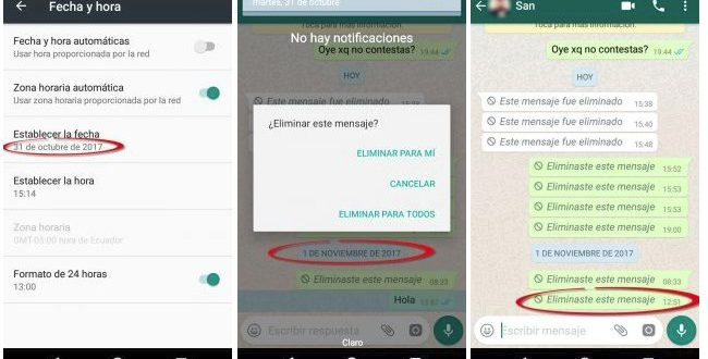 WhatsApp has a flaw that exposes your messages sent by mistake 2