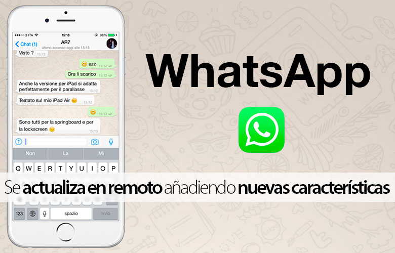 WhatsApp is updated remotely to add new features 4