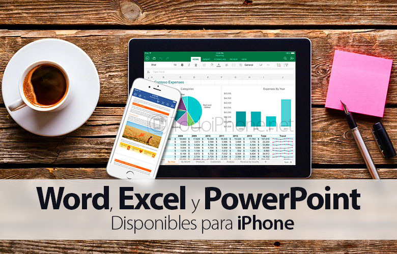 World, Excel and PowerPoint come to iPhone totally FREE 2