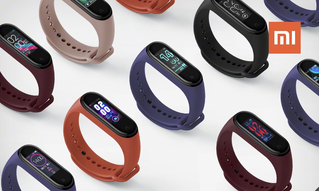 Xiaomi Mi Smart Band 4 is updated by adding new watchfaces and improving its performance