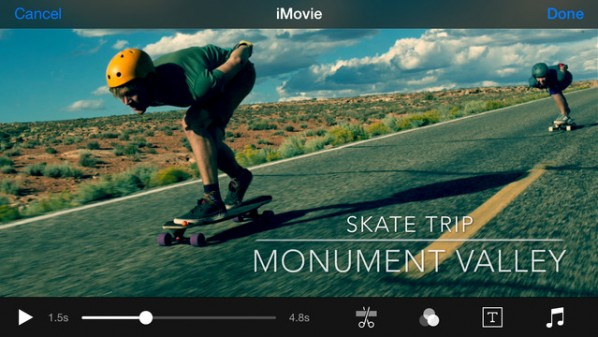 iMovie for iPhone and iPad is updated with support for iCloud photos 3