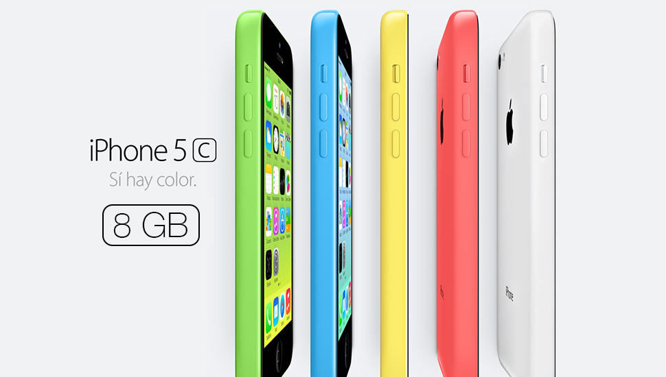 iPhone 5c 8GB Available
