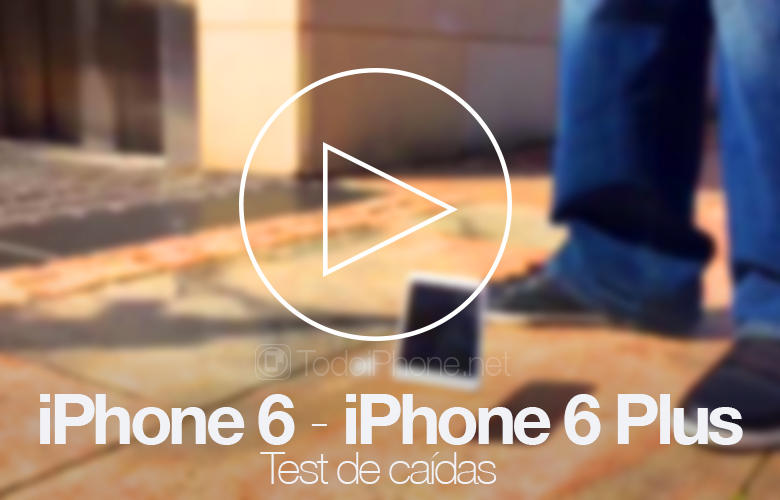 iPhone 6 and iPhone 6 Plus, first drop test 2