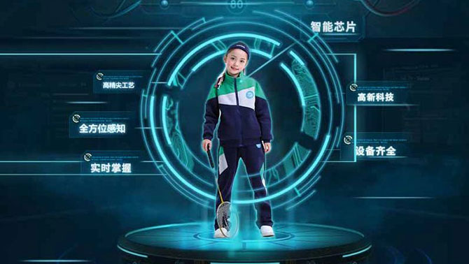 Chinese schools start wearing smart uniforms to track students 2