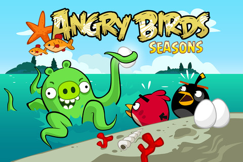 Free Angry Birds Seasons Limited for iPhone, iPod Touch and iPad 2