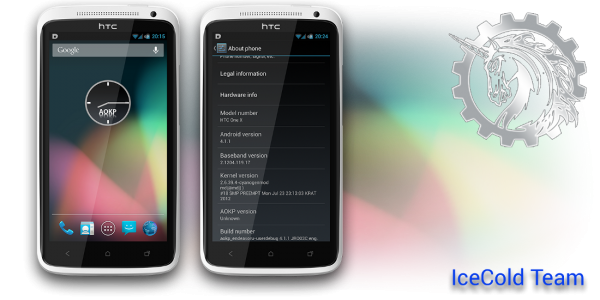 Actualice su HTC One X a IceColdJelly Android 4.1.1 ROM personalizada de AOKP [How...