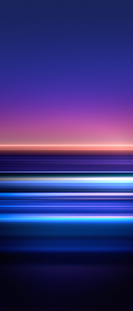 Download the official Sony Xperia 5 wallpaper