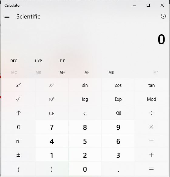 How to calculate percentages on a calculator with a percentage key