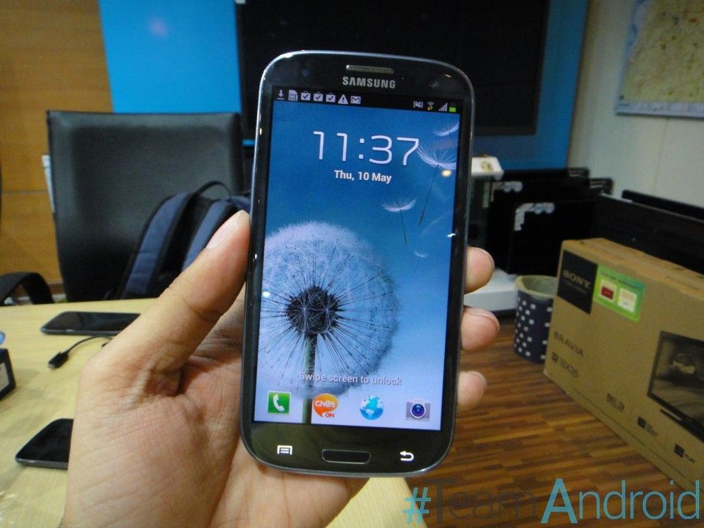 Android I9300XXDLI7 4.1.1 Jelly Bean OTA Official Firmware Update Test 1