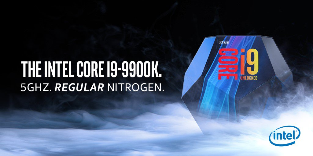 Intel teases AMD and its 5,00 GHz announcements, pulls out a chest ...