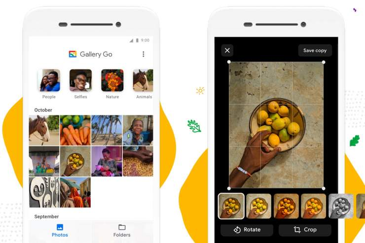 What is the Google Gallery Go app?
