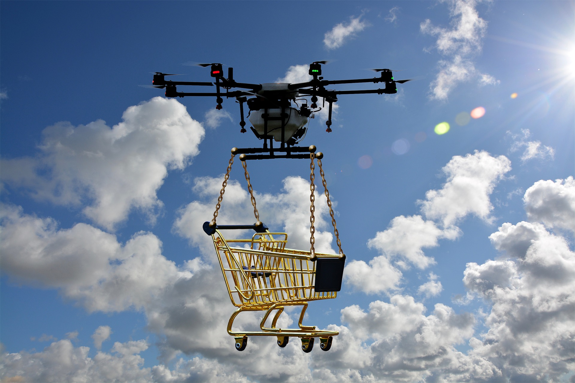 Use blockchain to guarantee the reliability of commercial drones | Geek Diary