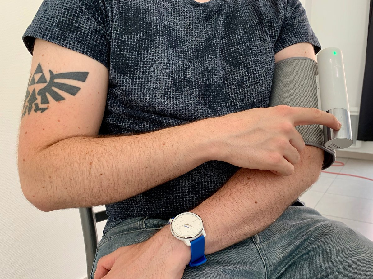 Withings BPM Core test © Mathieu Grumiaux for Clubic