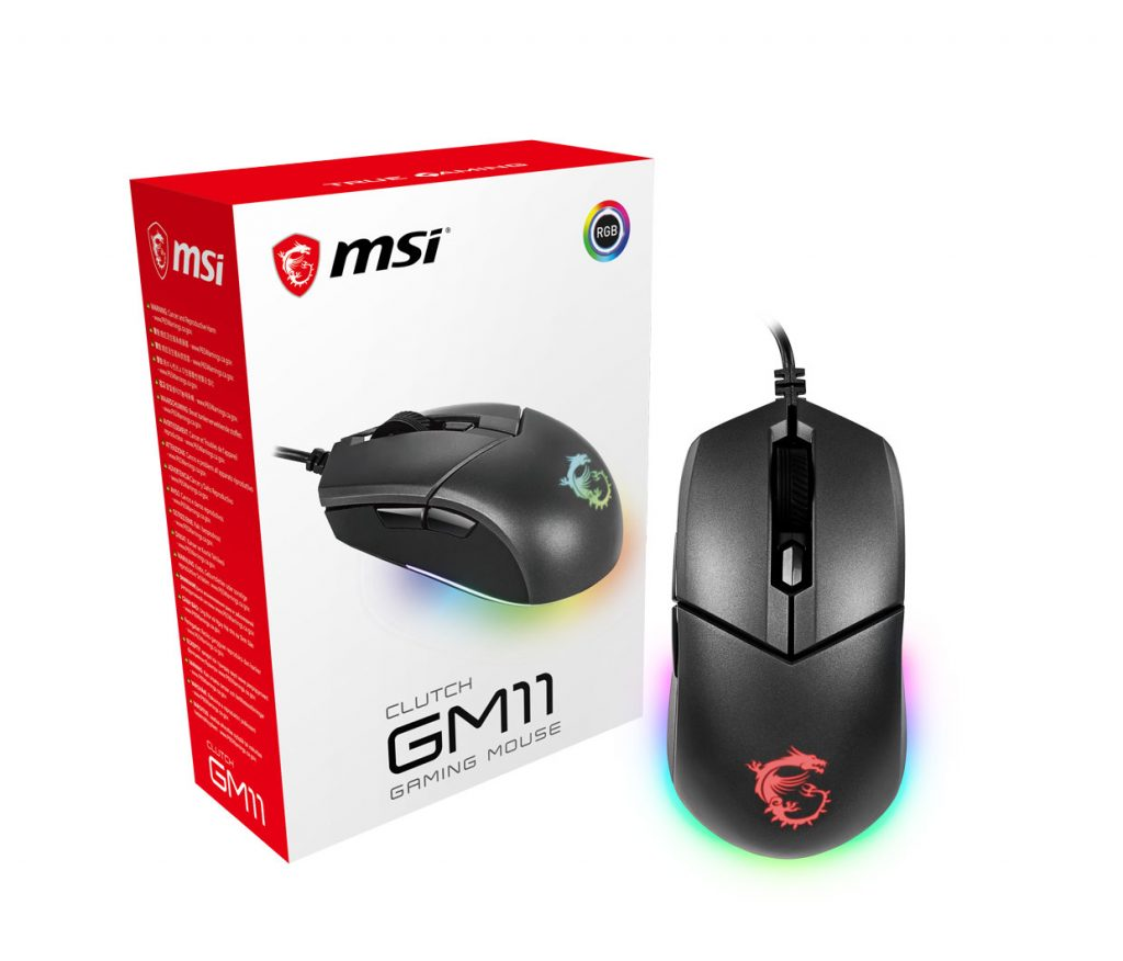 CLUTCH GM11 mouse from MSI