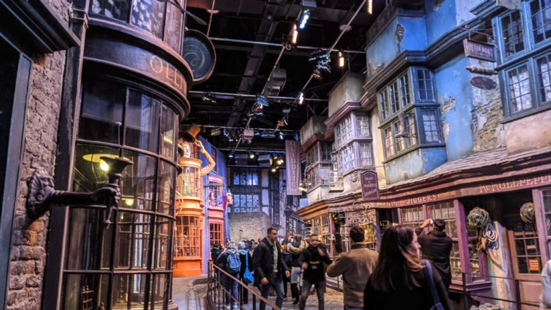 Harry Potter: we take you to the London studios!