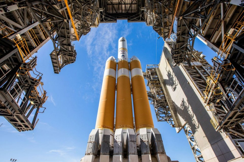 ULA launches Delta IV Heavy rocket after delays;  watch here