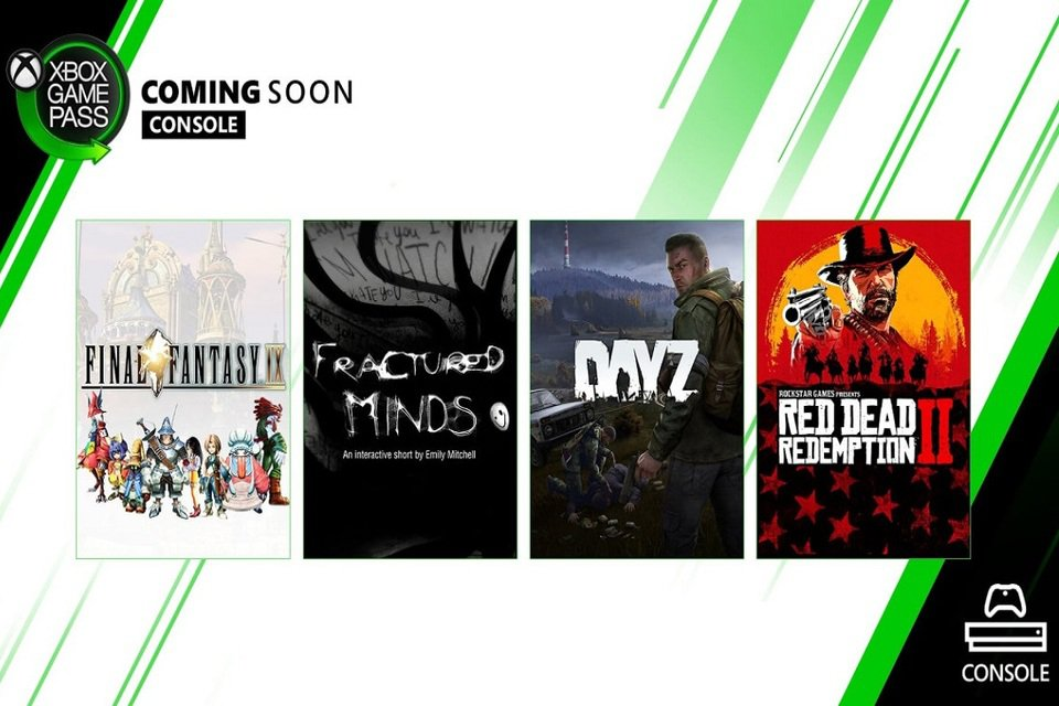 Xbox Game Pass for May will feature Red Dead Redemption 2, Final Fantasy IX and DayZ